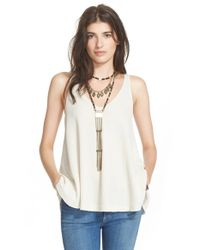 Free People - Natural 'kitten' Tank - Lyst