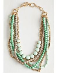 Ana Accessories Inc | Green Yes You Glam Necklace In Mint | Lyst