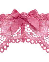 L'Agent by Agent Provocateur | Pink Women's Mirabel Suspender | Lyst