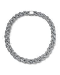 John Hardy | Metallic Medium Braided Necklace | Lyst