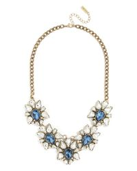 BaubleBar | Metallic Sapphire Petal Collar | Lyst