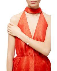 Delfina Delettrez - White Gold Pearl Piercing Bracelet - Lyst