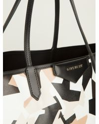 Givenchy Black Antigona Shopper Tote