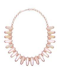 Kendra Scott | Pink Gabriella Statement Necklace | Lyst
