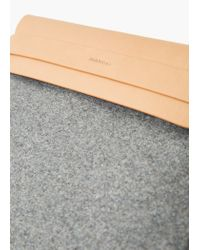 Mango - Brown Bicolor Cosmetic Bag - Lyst