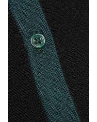 Pringle of Scotland Black Cashmere And Silk-blend Cardigan