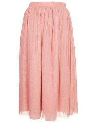 TOPSHOP   Pink Ballerina Midi Skirt   Lyst