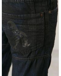 DSquared² Blue Tidy Biker Jean for men