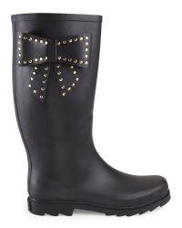 Betsey Johnson - Black Stormm Boots - Lyst