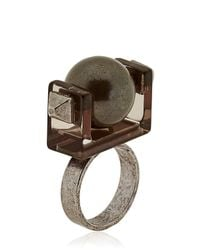Caterina Zangrando | Black Gae M Ring | Lyst