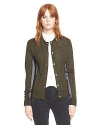 Marc By Marc Jacobs - Green 'holly' Cardigan Sweater - Lyst