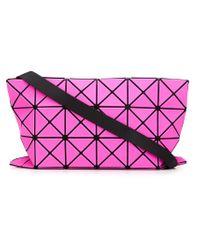 Bao Bao Issey Miyake Pink 'prism' Shoulder Bag