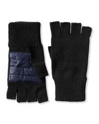 Banana Republic Black Fingerless Glove for men