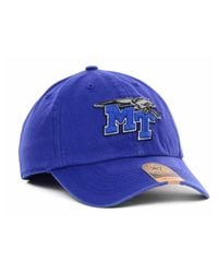 47 Brand - Middle Tennessee State Blue Raiders Ncaa '47 Franchise Cap for Men - Lyst
