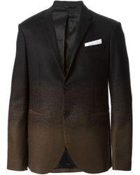 Neil Barrett | Black Gradient Effect Blazer for Men | Lyst