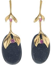 Annoushka | Black Drusy 18ct Yellow-gold | Lyst