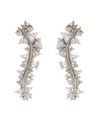 Fernando Jorge | Metallic Diamond, Topaz & White-Gold Ear Cuffs | Lyst