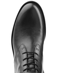 Marc By Marc Jacobs | Grove Lace-up Leather Boots - Black | Lyst