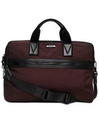 Michael Kors | Purple Parker Large Briefcase for Men | Lyst