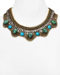 DANNIJO | Blue Oceana Bib Necklace 16 | Lyst