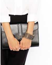 Kenneth Jay Lane - Metallic Chain Bracelet - Lyst