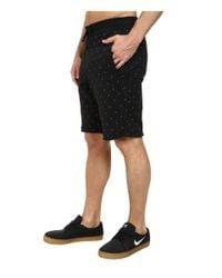 Nike - Black Sb Everett Polka Dot Short for Men - Lyst