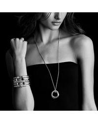 David Yurman | Metallic Bracelet With Black Onyx And 14k Gold | Lyst
