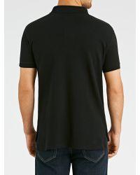 Polo Ralph Lauren Black Custom Fit Polo Shirt for men