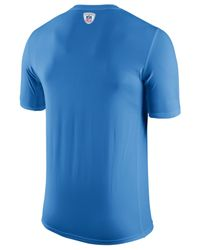 Nike Blue Men's San Diego Chargers Legend Staff Practice T-shirt for men