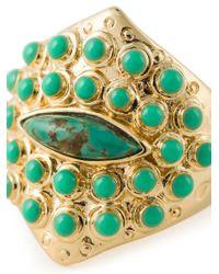 Aurelie Bidermann | Metallic 'navajo Cashmere' Ring | Lyst