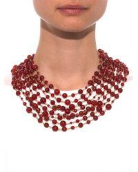 Rosantica By Michela Panero - Purple Pegaso Bead Strand Necklace - Lyst