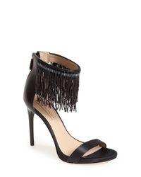 BCBGMAXAZRIA - Black 'devine' Ankle Strap Sandal - Lyst