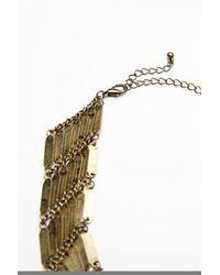 Free People | Brown Womens Talia Collar | Lyst