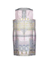Mary Katrantzou | Pink Short Dress | Lyst