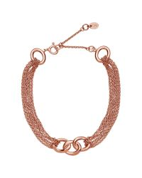 Links of London | Pink Signature Multi Chain Bracelet | Lyst