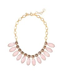 J.Crew | Pink Large Sunflower Necklace | Lyst
