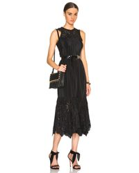Ulla Johnson | Black Oona Dress | Lyst