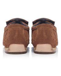 Jeffery West - Brown Suede Loafers for Men - Lyst