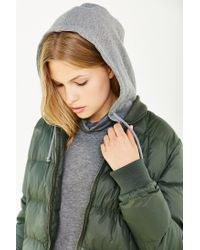 BB Dakota Green Kiley Puffer Jacket