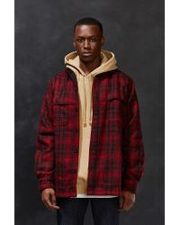 Woolrich - Red Stag Shirt Jacket for Men - Lyst