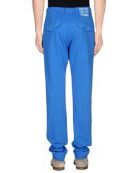 PRAIO - Blue Casual Pants for Men - Lyst