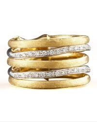 Marco Bicego | Metallic Jaipur Stacked Diamond Ring | Lyst