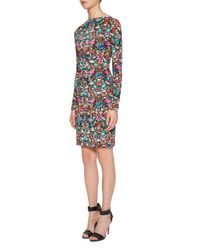 Nicole Miller | Multicolor Luxuriant Jersey Dress | Lyst