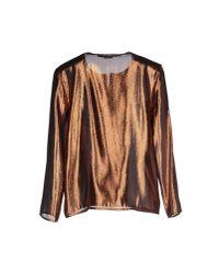 Les Prairies de Paris Metallic Shirt