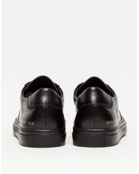 Common Projects - Bball Low In Black for Men - Lyst