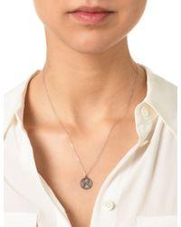 Laura Lee | Metallic Silver Diamond Pisces Necklace | Lyst