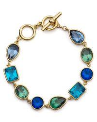 Carolee - Blue Cerulean Skies Bracelet - Lyst