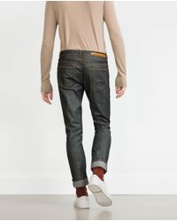 Zara | Gray Structured Jeans for Men | Lyst
