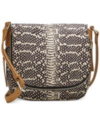 Vince Camuto Multicolor Baily Fabric Crossbody