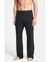 Derek Rose | Black 'basel' Stretch Modal Lounge Pants for Men | Lyst